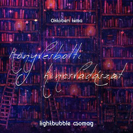 """Októberi lightBubble csomag - """"Könyvesbolti kincsvadászat"""""""